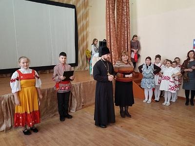 Празднование Масленицы в Терновской школе